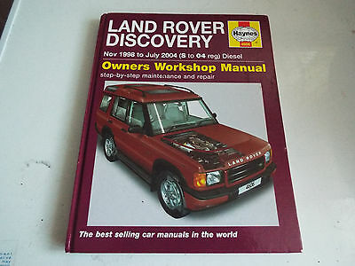 Land Rover Discovery Haynes