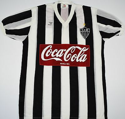 1986-1988 Atletico Mineiro Penalty Home Football Shirt (Size Xl)