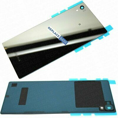 Xperia Z5 Premium Battery Cover Rear Glass Panel Back Replacement Chrome  OEM