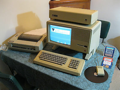 Rare - Apple Lisa 2 Computer Complete System - Restored, Working, & Prints!