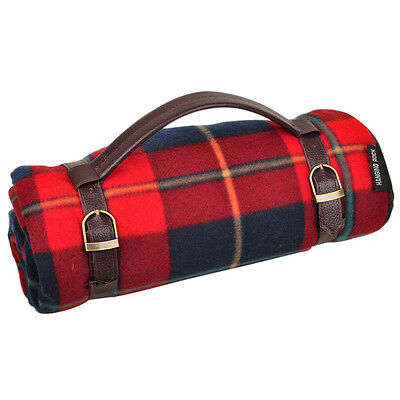 Family Size Waterproof Outdoor Travel Beach Camping Picnic Mat Rug - Vintage Red