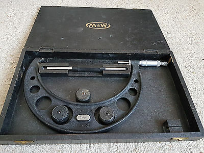 Micrometer 7 - 8 inch Moore and Wright