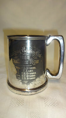 Antique Reading Rowing Club Challenge Fours Tankard/Trophy 1888