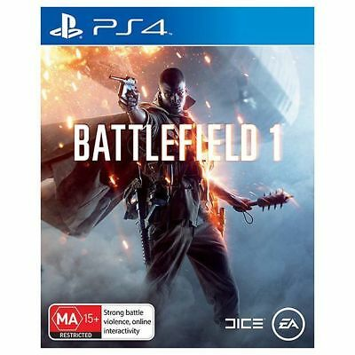 Battlefield 1 PS4 Brand NEW *DISPATCHED FROM BRISBANE*
