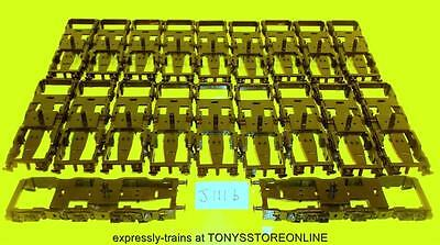 j111b BULK BONUS BUY jouef oo spares 20x black bogie frames for class 40 loco