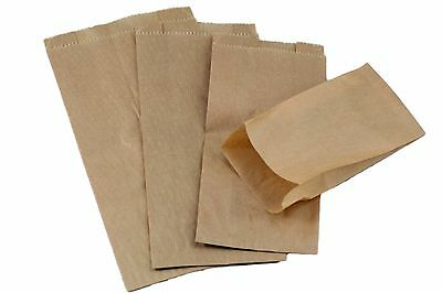 Small Kraft Paper Gift Wedding Party Brown Paper Merchandise Bags Craft Food