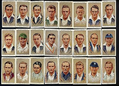 "1934    Players    ""cricketers    1934""    Complete    Set    (50)    Loose."