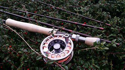Flextec Spring Creek 9' #7/8 4 Piece Game / Fly Fishing Rod Rrp £180