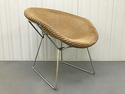 LLYOD LOOM NEMO CHAIR No2 - DANISH INFLUENCE - MID CENTURY RETRO VINTAGE STYLE