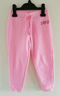 *BNWOT* Young Dimension Girls Pink Joggers Tracksuit Bottoms Size 5-6 Years