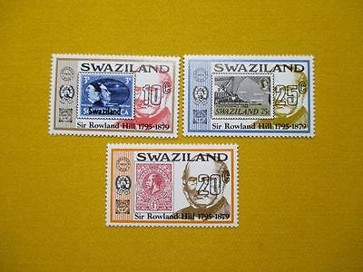 Swaziland Rowland Hill 1997 mnh Stamps 65