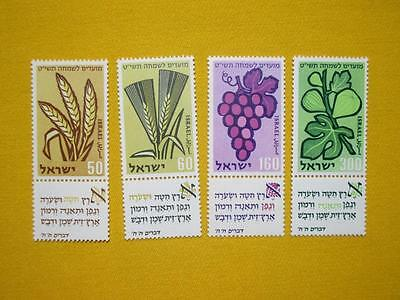Israel 167 170 mnh Stamps 3
