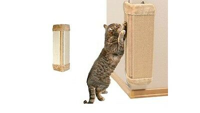 Pet Kitten Corner Sisal Wall Scratcher Cats Hanging Cat Scratch Board Cat Loveit • EUR 12,57