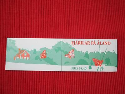 Aland Butterflies MNH booklet Stamps 666