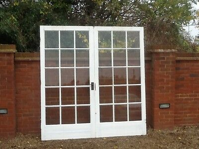 Glazed georgian style french doors picclick uk for Georgian french doors exterior
