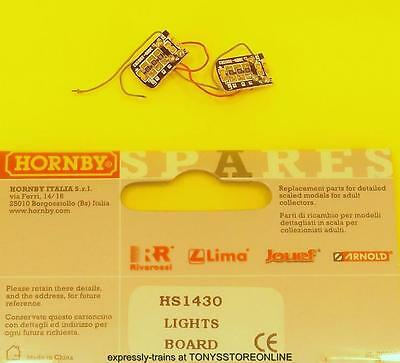 hornby international ho spares hs1430 1x pair of lights boards