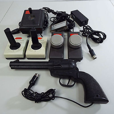 Lot Of Vintage Controller For Commodore 64 (Untested) (T28)