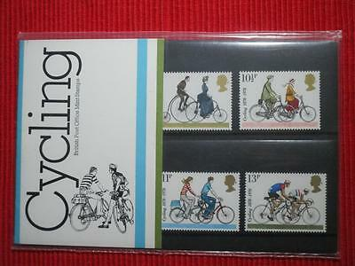 Uk Cycling Staamps in folder 1978