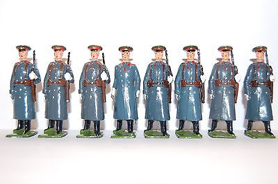 8 Vintage Britains Lead Russian Infantry Red Army Guards