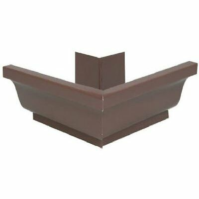 AMERIMAX HOME PRODUCTS 2520219 5-Inch Aluminum Outside Mitre, Brown
