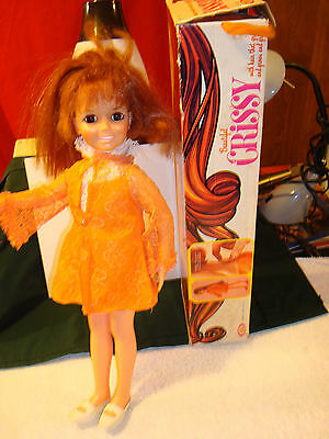 Beautiful Chrissy Red Headed Doll In Original Box -  White Shoes - No Underware