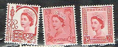 (12-393) 3 Mint  UK  Postage sTamps