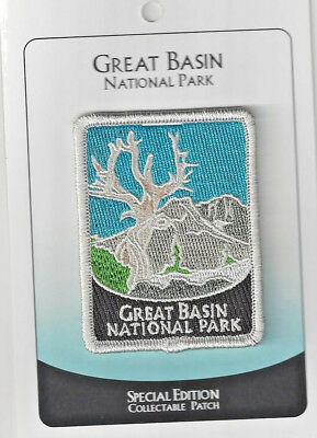 Great Basin National Park Souvenir Patch - Special Edition Traveler Series