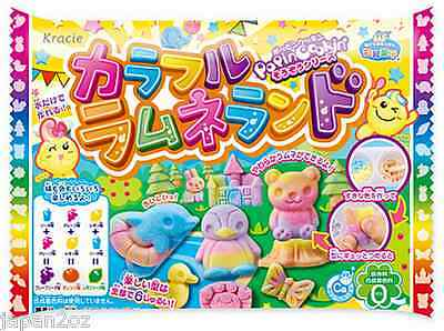 KRACIE POPIN COOKIN COLOURFUL CANDY KIT. DIY Japanese candy. Happy Kitchen.