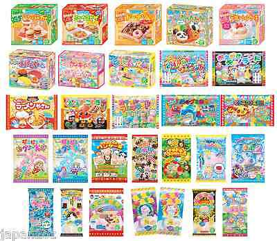 KRACIE POPIN COOKIN KITS - 20+ DIY candy kits to choose from. Japanese candy