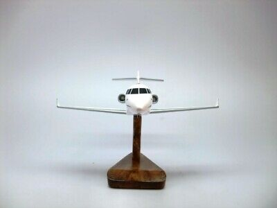 Hawker Beechcraft Hawker 900XP Private Jet Aircraft Wood Model Free Shipping New
