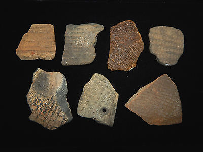 Pre-Columbian Pottery Shards, 100% Authentic