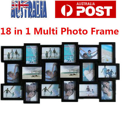 18 in1 Multi Photo Frame Picture Wall Decor Photo Frame Extra Large Photo Frame
