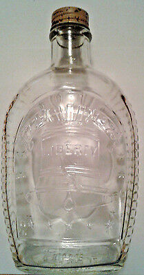 1976 Liberty Bell Collectible Syrup Bottle