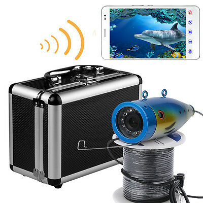 MOUNTAINONE WIFI Wireless 20M underwater fishing camera video recorder APP