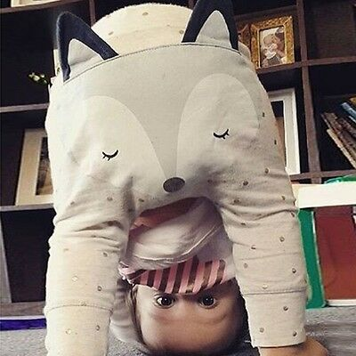 Soft Fox Bottom Harem Baby Pants Infant Kids Pants Boys Girls Leggings Trousers