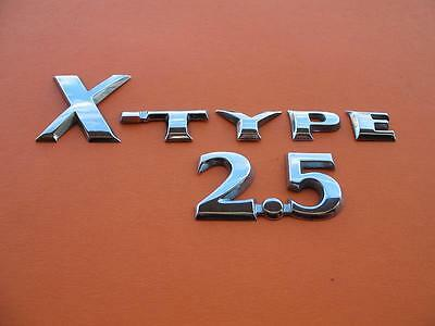 02 03 04 05 06 07 08 Jaguar X-Type 2.5 Rear Emblem Logo Badge Sign Symbol Set #2