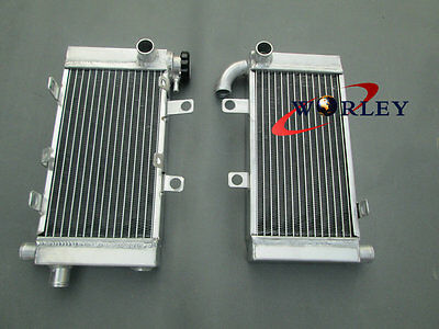 Aluminum Radiator for Honda Super Hawk VTR1000F V-Twin 1997-2005 1998 1999 2000