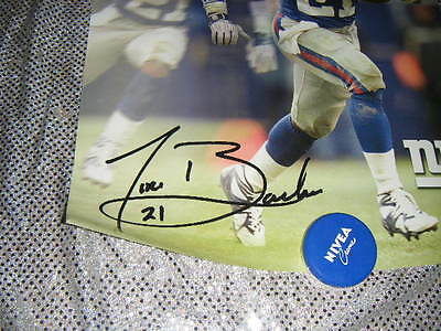 tiki barber large  reprint signed  poster