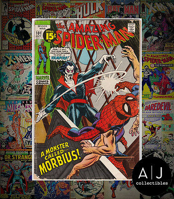 The Amazing Spider-Man #101 (W Marvel B) GD - VG! HIGH RES SCANS!