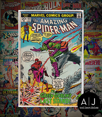 The Amazing Spider-Man #122 (W Marvel B) VG! HIGH RES SCANS!