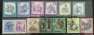 Used Austria Stamps