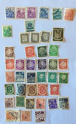 GERMANY 42 Used stamps, Good Value