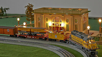 Lot 2212 Lionel Diesel-Lok Union Pacific 1988 + 3 Güterwaggons + Caboose - TOP