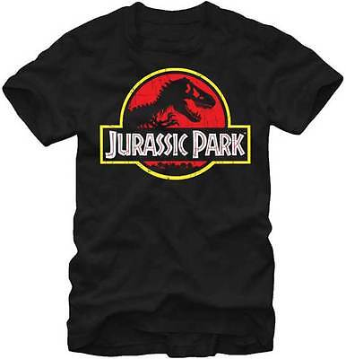 JURASSIC PARK - Logo:T-shirt - NEW - LARGE ONLY