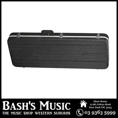 Electric Bass Guitar Hard Case Rectangular Precision + Jazz Case ABS