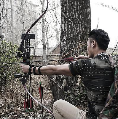 40lbs Takedown Recurve Bow Set 60'' Archery Right Hand Hunting Shooting Longbow
