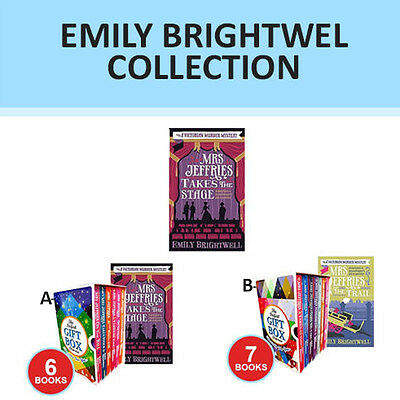 Mrs Jeffries Collection By Emily Brightwell Set Takes The Stage Gift Wrapped New