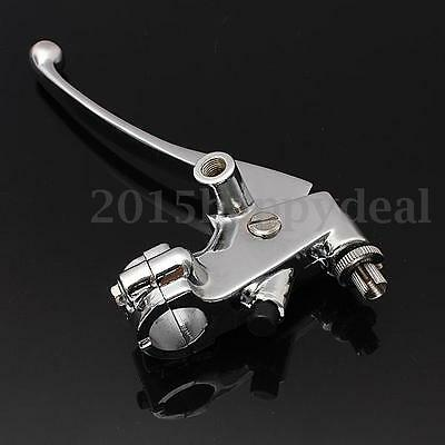 "Universal 7/8"" 22mm Motorcycle Handlebar Hand Controls Clutch Lever Left Bars UK"