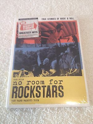 THE FILM NO ROOM FOR ROCKSTARS VANS WARPED TOUR DVD new   no doubt sublime damed