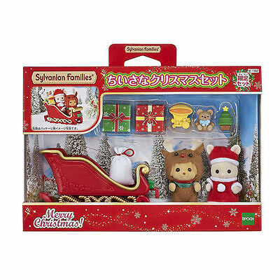 Sylvanian Families Critters Family Little Christmas Set Ep28850